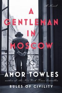 Amor Towles, author of RULES OF CIVILITY