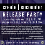 Create | Encounter release party