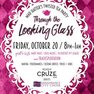 Mad Hatter's Twisted Tea Party: Through the Looking Glass
