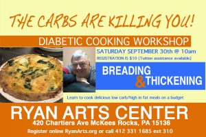 The Carbs Are Killing You Diabetic Cooking Class