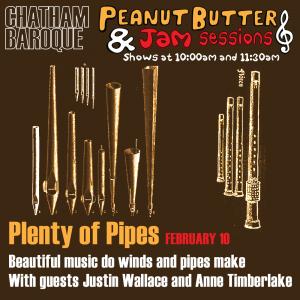 Peanut Butter & Jam Sessions: Plenty of Pipes