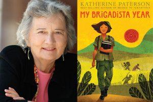 Katherine Paterson, author of Bridge to Terabithia...