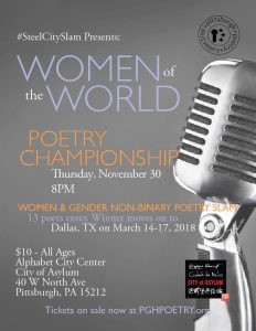 Steel City Women's Poetry Championship