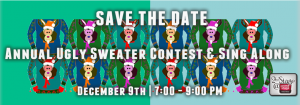 Ugly Sweater Contest and Christmas Sing Along