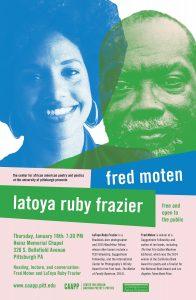 Black Futures: Fred Moten and LaToya Ruby Frazier