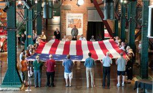 Presidents Day Flag Ceremony