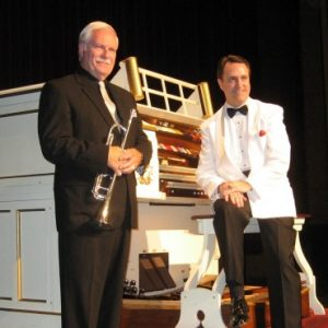 Organist Ken Double with Big Band Trumpeter Skip S...