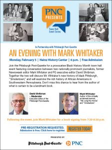 An Evening with Mark Whitaker
