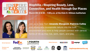 ISS Presents: Biophilia – Inspiring Beauty, Love, Connection, and Health through Our Places