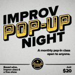 Improv Pop-Up Workshop & Comedy Show