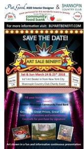 Arts Sale Benefit for the Greater Pittsburgh Food Bank