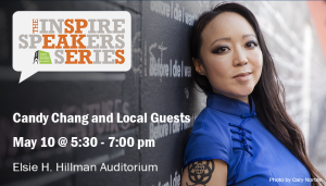 Inspire Speakers Series Presents: Candy Chang and Local Guests