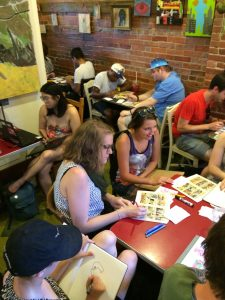 Pittsburgh Comics Salon at Kaibur Coffee