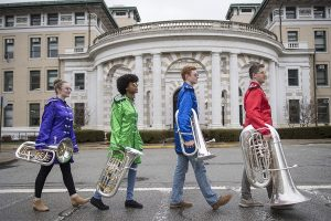 "Tartan Tuba Band at CMU Performs ""Sergeant Pepper"""