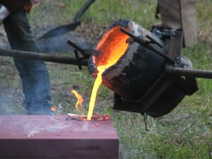 Rivers of Steel Iron Pour
