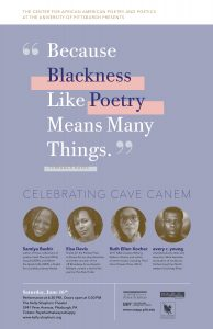 """Because Blackness Like Poetry Means Many Things"": Celebrating Cave Canem"