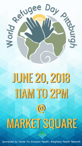 World Refugee Day 2018 in Market Square!
