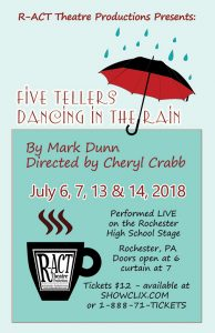 Five Tellers Dancing in the Rain