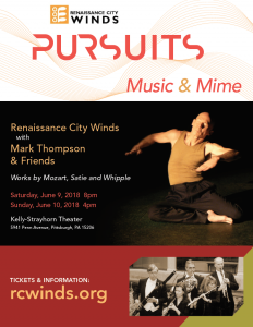 Pursuits: Music & Mime