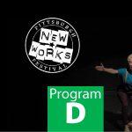 Pittsburgh New Works Festival Program D