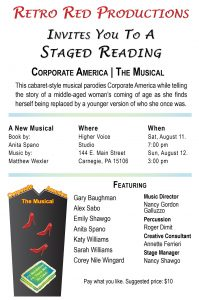 "A Staged Reading of ""Corporate America, The Musical"""