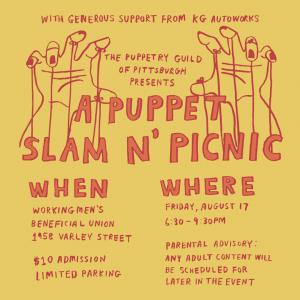 Puppet Slam N' Picnic