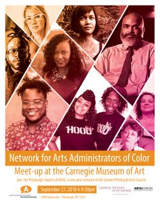 Network for Arts Administrators of Color (NAAC) at the Museum
