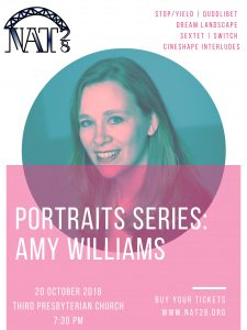 NAT 28 Portraits Series: Amy Williams