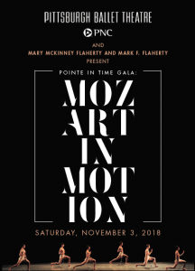 Pointe in Time Gala: Mozart in Motion