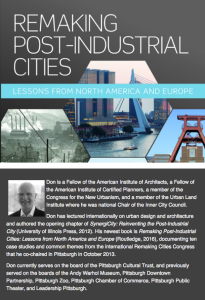 Remaking Post-Industrial Cities with Don Carter