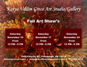 Fall Art Show's-Katya Vadim Greco Art