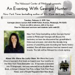 An Evening with Georgia Hunter