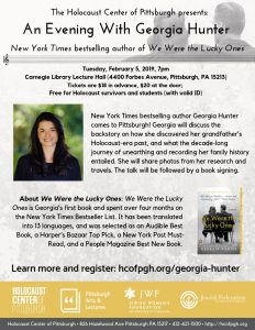 An Evening with Georgia Hunter