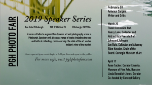 PGH Photo Fair Speaker Series