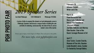 PGH Photo Fair Speaker Series
