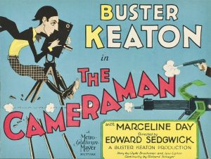 """Buster Keaton's """"The Cameraman"""" with Live Organ by..."""