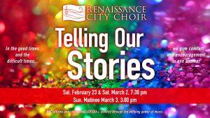 Telling Our Stories—Renaissance City Choir 2019 Cabaret