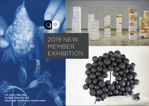 2019 New Member Exhibitino