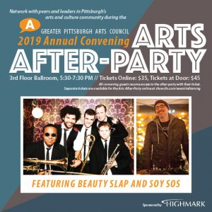 Arts After-Party Featuring Beauty Slap and Soy Sos