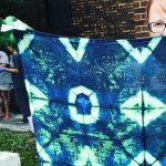 Indigo Shibori Wardrobe Revamp Dyeing