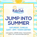 The Waterfront Kids Club Summer Celebration