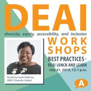 DEAI Lunch & Learn Workshop: Diversity, Equity...
