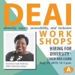 DEAI Lunch & Learn Workshop: Hiring for Diversity