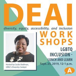 DEAI Lunch & Learn Workshop: LGBTQ Inclusion