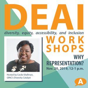 DEAI Lunch & Learn Workshop: Why Representatio...