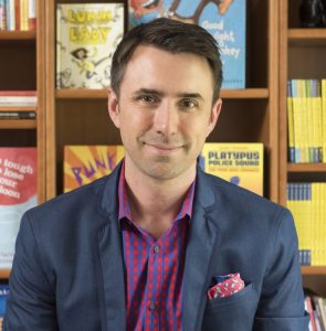 Jarrett J. Krosoczka, Bestselling Author/Illustrator