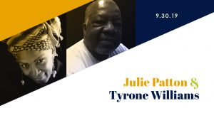 Tyrone Williams and Julie Patton Reading and Conve...