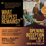 Group A 75th Anniversary Exhibition Opening Reception