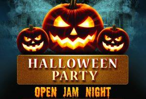Open Jam Halloween Party