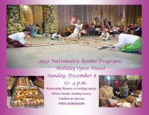 2019 Nationality Rooms Holiday Open House